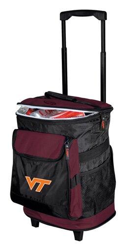 Collegiate Rolling Cooler - Virginia Tech by Logo Brands