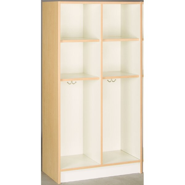 2 Section Coat Locker by Stevens ID Systems