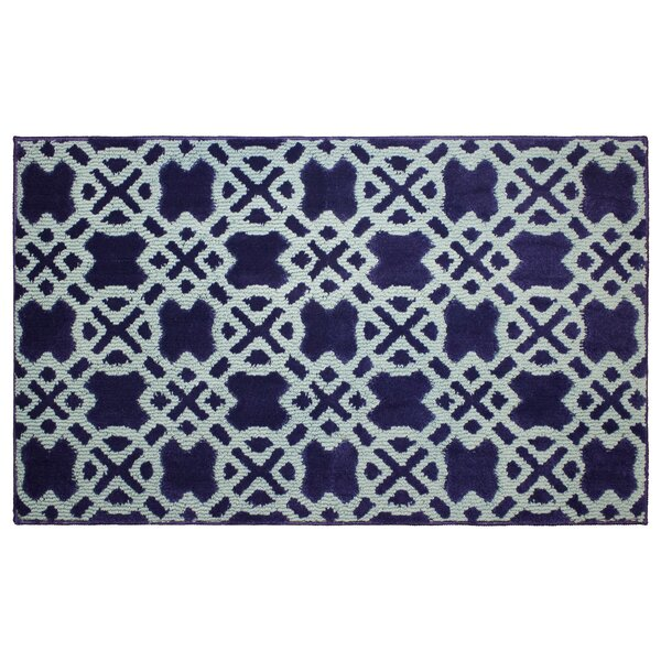 Tazo Navy/Mineral Blue Area Rug by Jean Pierre