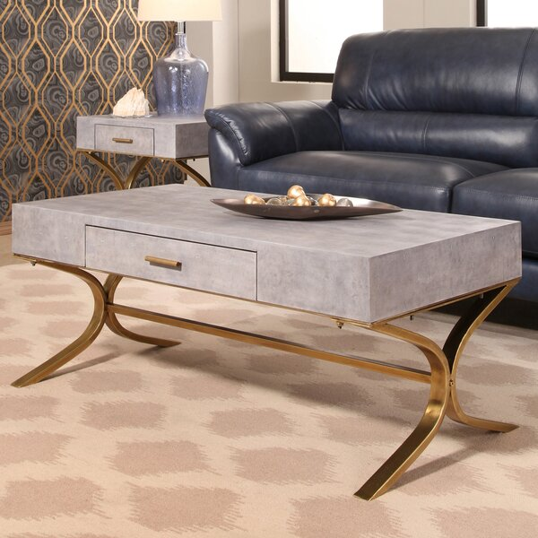 Canonbury Shagreen Coffee Table by Mercer41