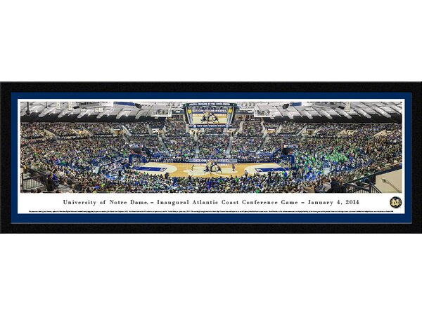 NCAA Notre Dame, University of - Basketball - Inaugural Acc by James Simmons Framed Photographic Print by Blakeway Worldwide Panoramas, Inc