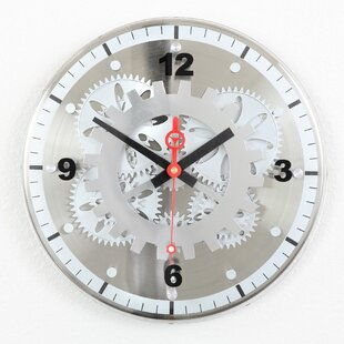 Large Gear Wall Clock | Wayfair