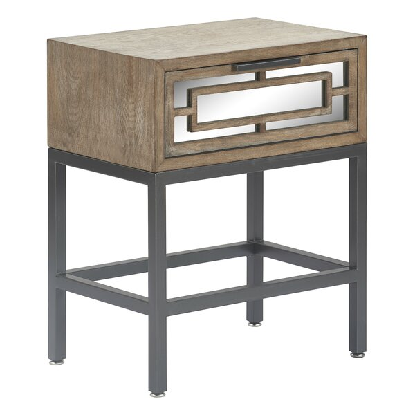 Hayworth End Table With Storage By Tommy Hilfiger