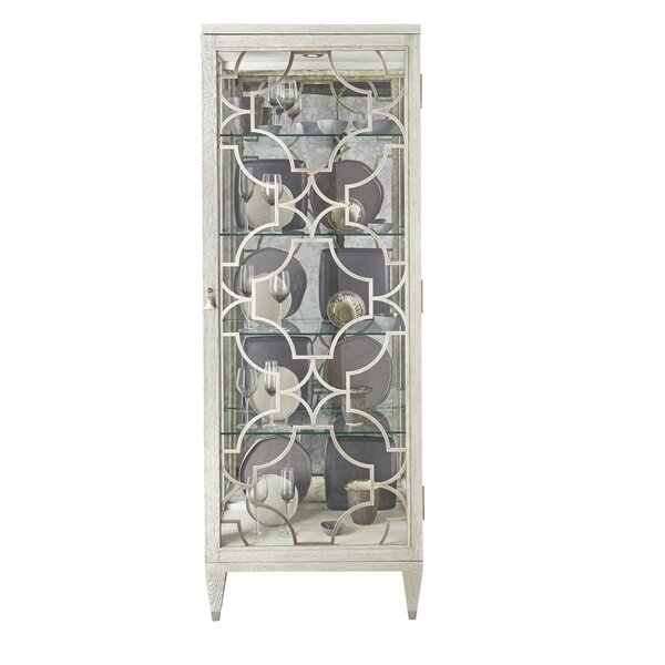 Domaine Lighted Curio Cabinet by Bernhardt