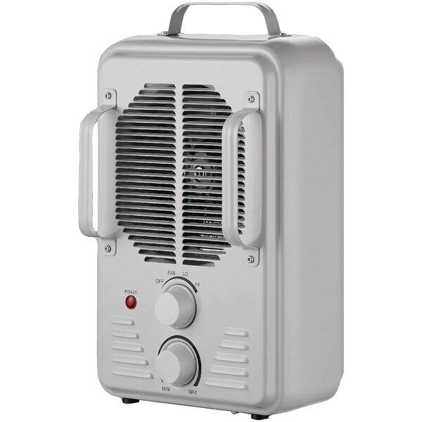 Utility 1,500 Watt Electric Fan Compact Heater by Brentwood Appliances