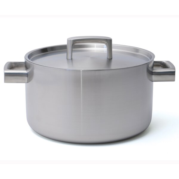 Ron 6.4 qt. Covered Stock Pot with Lid by BergHOFF International