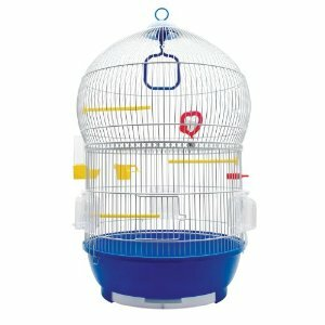 Living World Bird Cage with 2 Pull Out Drawers by Living World by Hagen