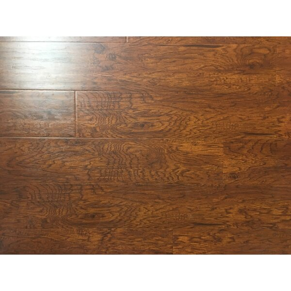 6.5 x 48 x 12mm Hickory Laminate Flooring in UV Layer by Yulf Design & Flooring