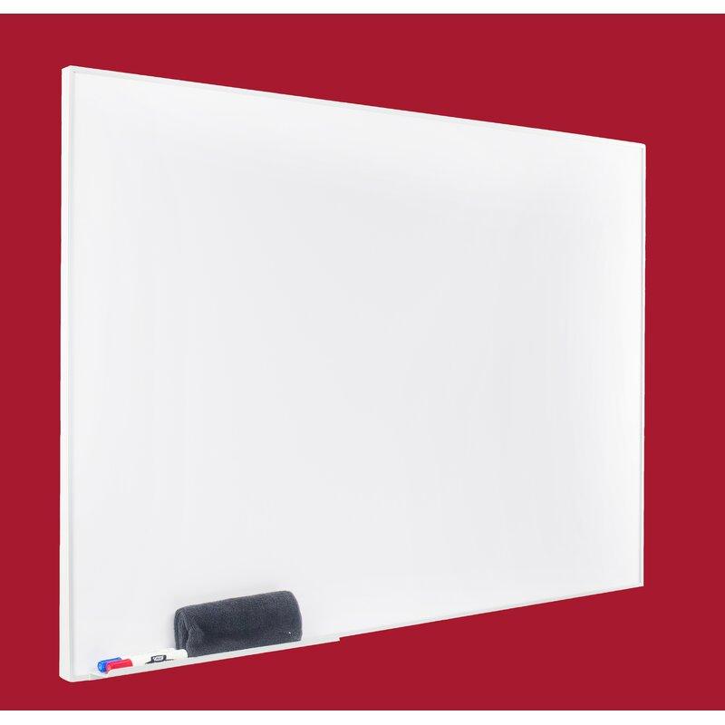 Egan Visual Egan Presentation Boards Aluminum Square Frame Dry Erase ...