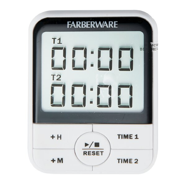 Protek Dual Event Digital Timer by Farberware