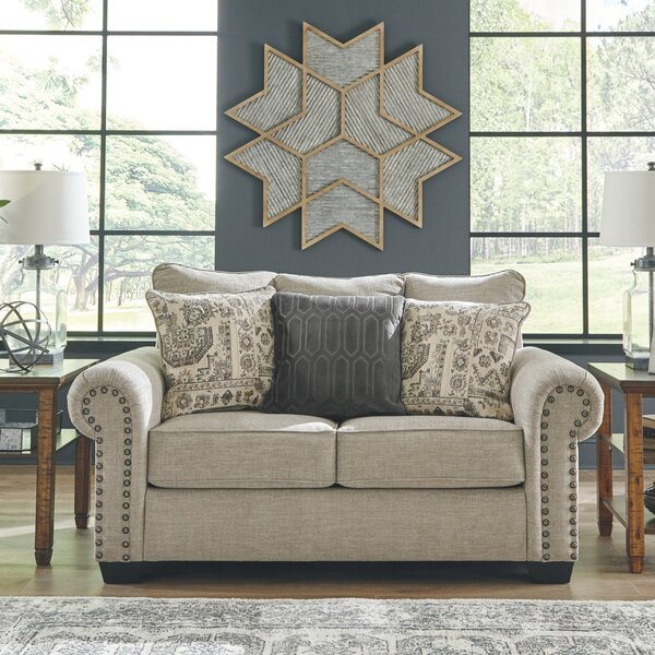 Latest Collection Snediker Loveseat by Charlton Home by Charlton Home
