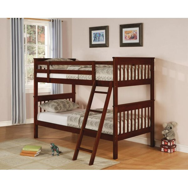 Arleta Bunk Twin over Twin Bed by Harriet Bee