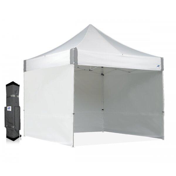 Instant 10 Ft. W x 10 Ft. D Steel Pop-Up Canopy by E-Z UP