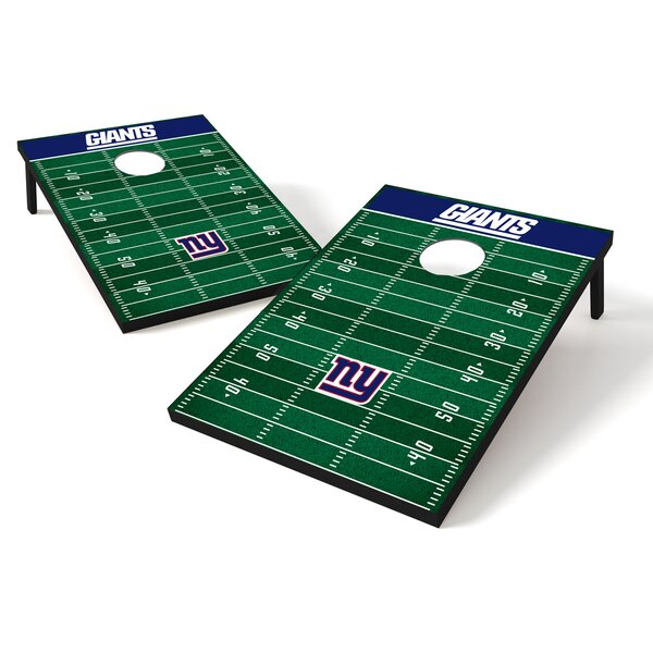 NFL Football Cornhole Set by Tailgate Toss