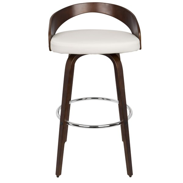 Wright 30 Swivel Bar Stool by Langley Street