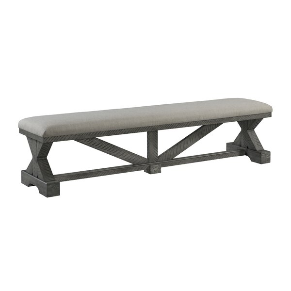 Core Wood Bench by Gracie Oaks