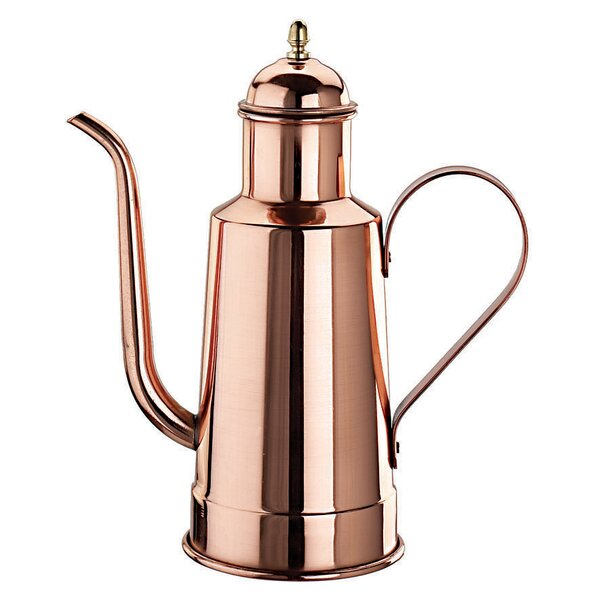 Copper and Tin Oil Dispenser Cruet by Paderno World Cuisine