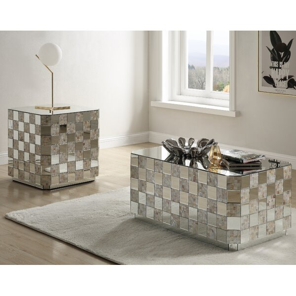 Bustamante 2 Piece Coffee Table Set by Everly Quinn Everly Quinn