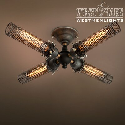 Sputnik Chandelier lnstall Instruction by Westmen Lights