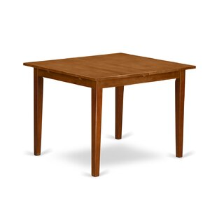 Where buy  Lorelai Solid Wood Dining Table ByAlcott Hill