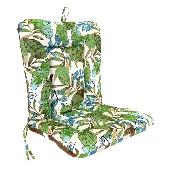 Indoor/Outdoor Dining Chair Cushion by Jordan Manufacturing