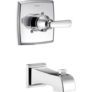 Top Reviews Ashlyn Tub and Shower Faucet Lever Handles ByDelta