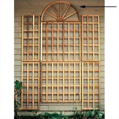 Cedar English Wall Wood Trellis by Rustic Natural Cedar Furniture