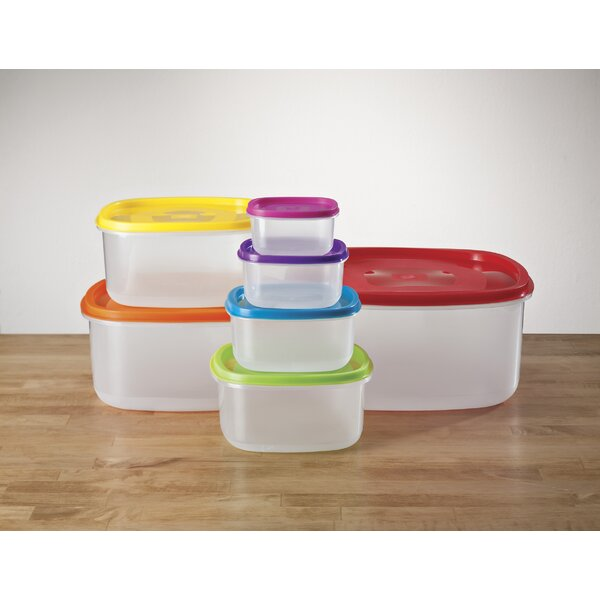 14 Container Food Storage Set by Walter Drake