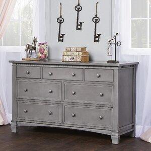 Santa Fe 7 Drawer Double Dresser