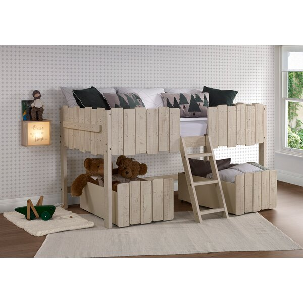 Cogburn Twin Low Loft Bed with Drawers by Isabelle & Max