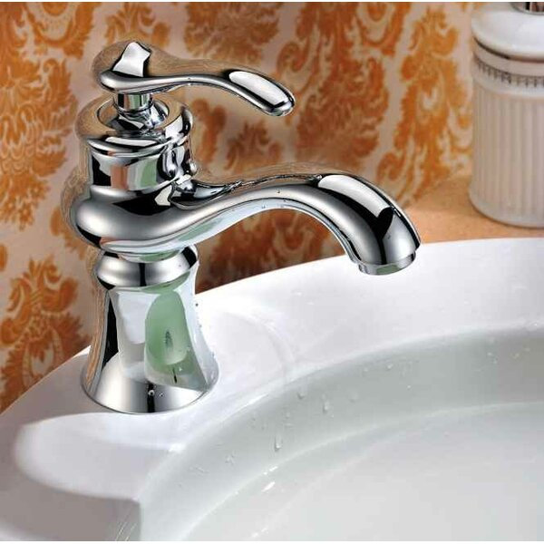 Ceramic 19 Wall Mount Bathroom Sink with Faucet