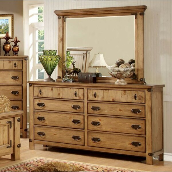 Ilyan 8 Drawer Double Dresser by August Grove