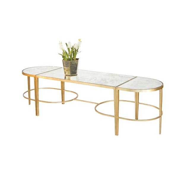 3 Piece Coffee Table Set By Worlds Away