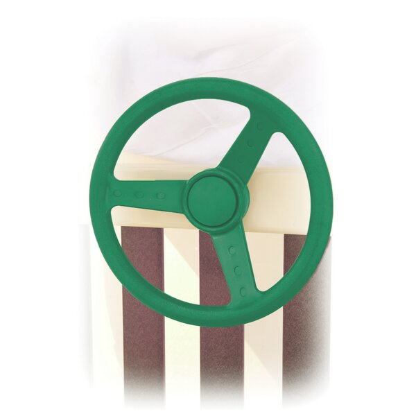 Steering Wheel Swing Set Toy by YardCraft