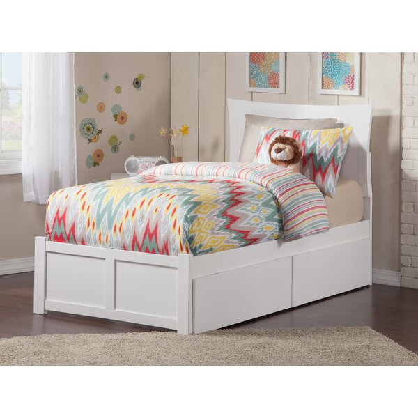 Maryanne Extra Long Twin Mates & Captains Bed with Drawers by Viv + Rae