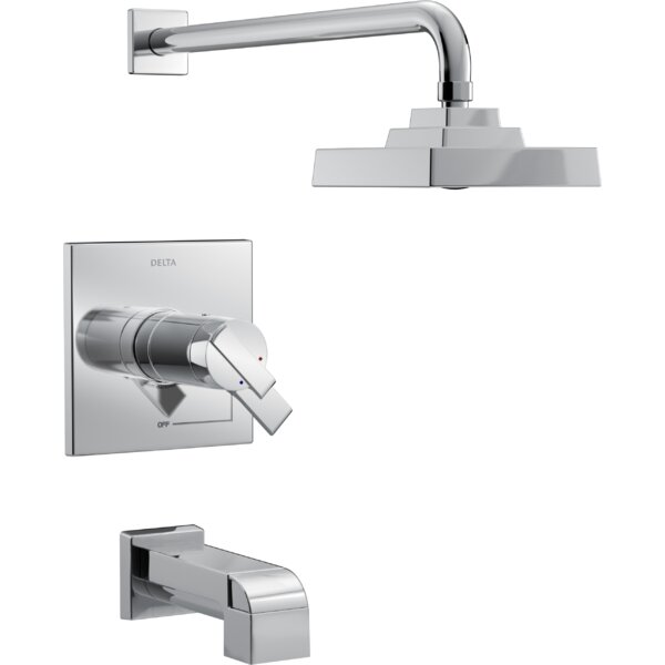 Ara  Tub and Shower Trim with Lever Handle and TempAssure by Delta Delta