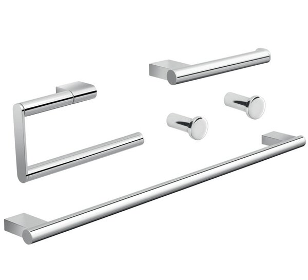 Canarie 5 Piece Bathroom Hardware Set by Gedy by Nameeks