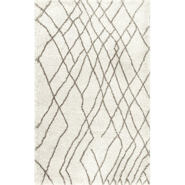 Osio Ivory Area Rug by Orren Ellis