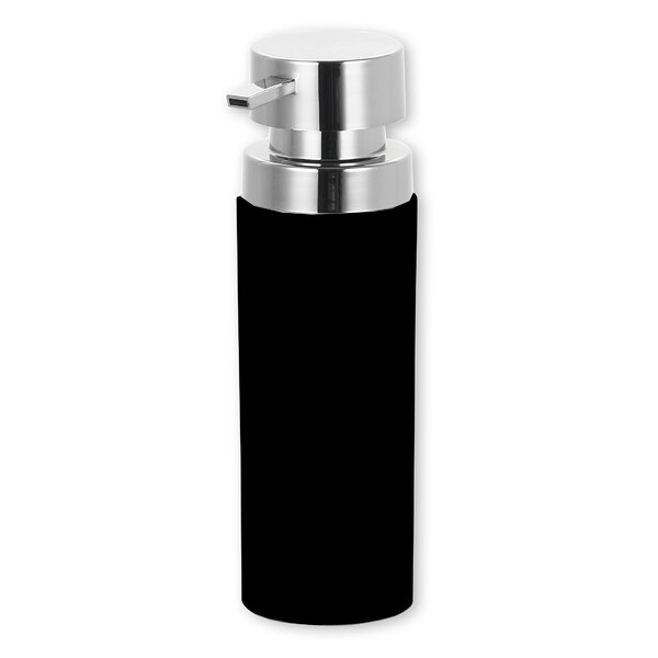 Stainless Steel Round Soap Dispenser by Home Basics
