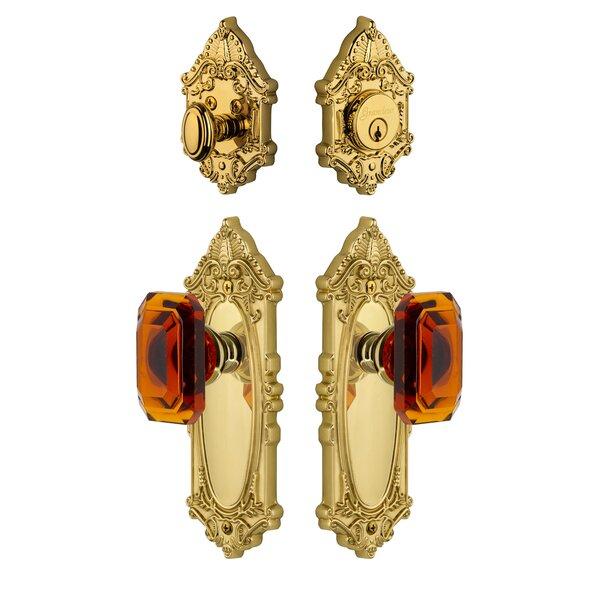 Grande Victorian Single Cylinder Knob Combo Pack by Grandeur