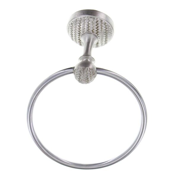 Cestino Wall Mounted Towel Ring by Vicenza Designs