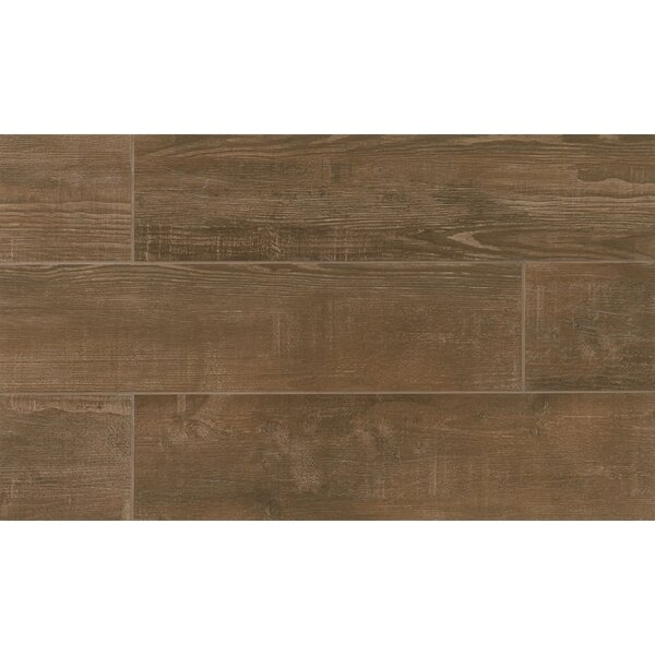 Hamptons 8 x 36 Porcelain Wood Tile in Rustic by Grayson Martin