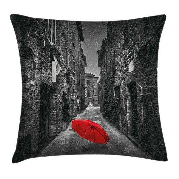 Tuscany Italy Square Pillow Cover by East Urban Home