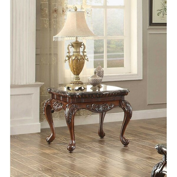 Brooklandville Engraved End Table by Astoria Grand Astoria Grand
