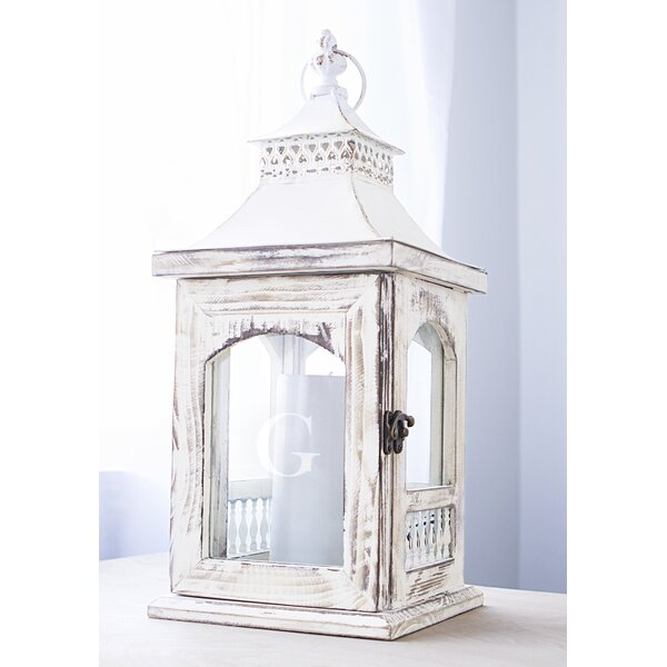 Rustic Décor Wooden Lantern by Lark Manor