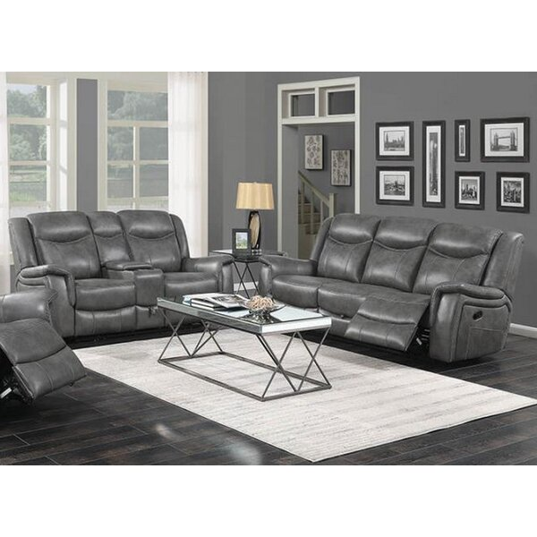 Erico Motion 2 Piece Reclining Living Room Set by Latitude Run