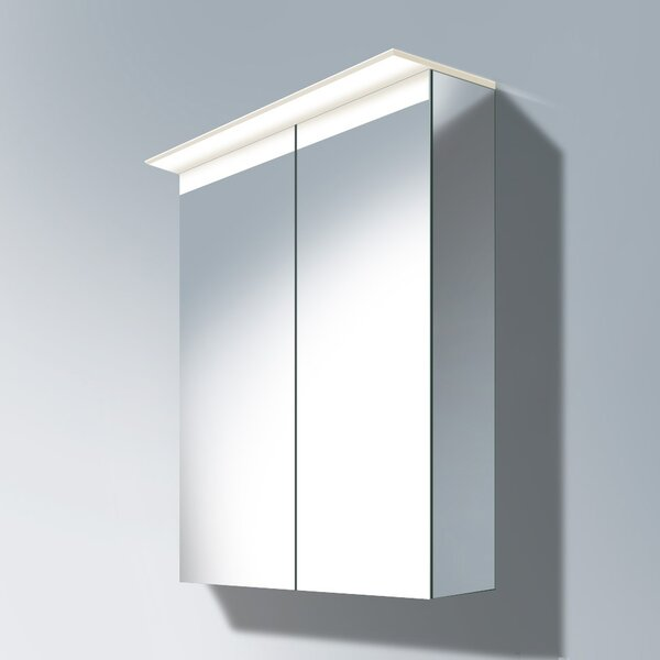 Delos 23.63 x 29.88 Surface Mount Medicine Cabinet with LED Lighting by Duravit