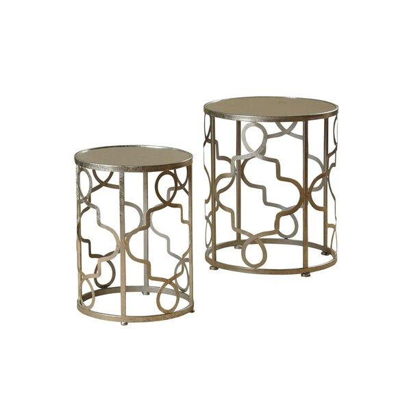 Witney 2 Piece Nesting Table Set by House of Hampton House of Hampton®