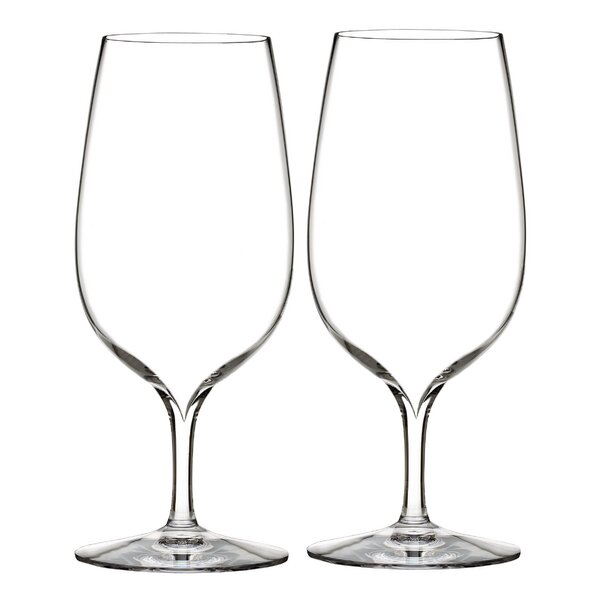 Elegance 17 oz. Crystal Every Day Glass (Set of 2) by Waterford