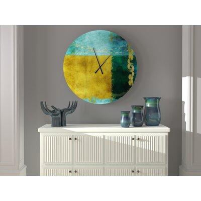 Wayfair North America For Oversized Yaovi Wall Clock Orren Ellis Size Small Ibt Shop
